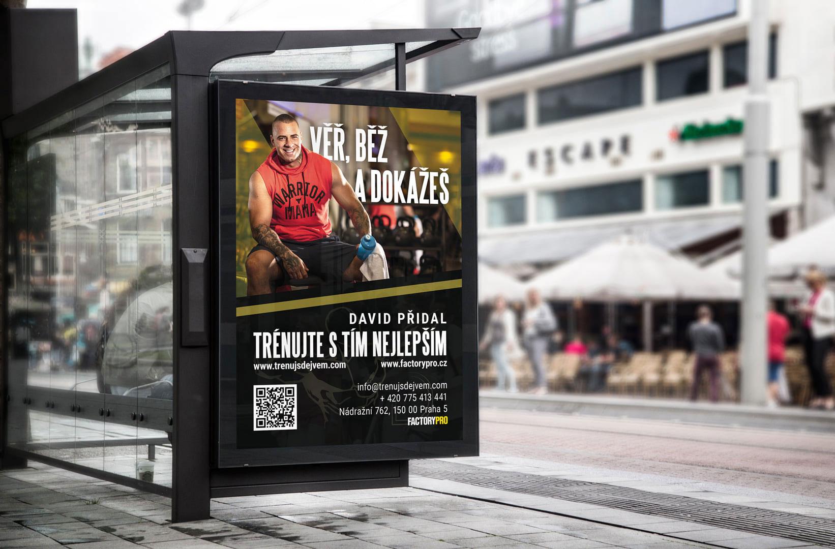 Citylight reklama osobního trenéra