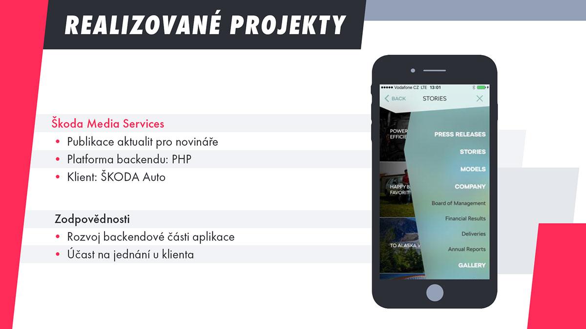 Snímek #6 – Realizované projekty – Škoda Media Services